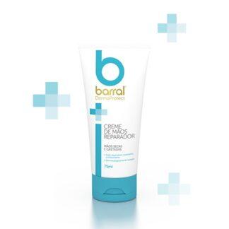 Barral Dermaprotect Creme de Mãos 75ml, creme de rápida absorção, que repara a pele em profundidade.