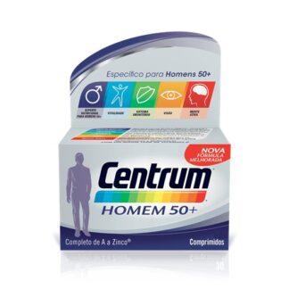 Centrum Homem 50+ 90 Comprimidos, fórmula especificamente equilibrada com quantidades reforçadas de vitaminas e minerais que ajudam a satisfazer as necessidades específicas de homens com mais de 50 anos.