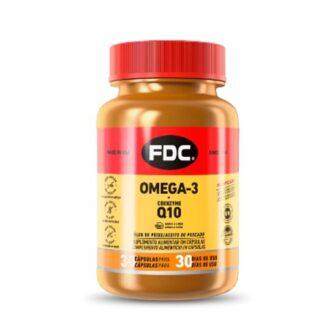 O FDC® Omega-3 + Coenzyme Q10 contém os ácidos gordos EPA (ácido eicosapentaenóico) e DHA (ácido docosahexaenóico) que contribuem para o normal funcionamento do coração e todos os benefícios da coenzima Q10, numa cápsula.