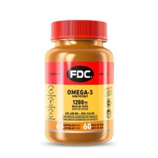 FDC Omega-3 High Potency 60 Cápsulas os ómegas-3 são gorduras polinsaturadas que devem estar presentes numa alimentação saudável e equilibrada.