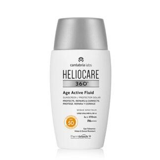 Heliocare 360º Age Active Fluid Spf 50 50ml,fotoimunoproteção alta que ajuda a prevenir e reparar o envelhecimento