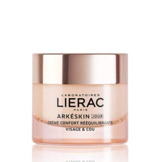 Lierac Arkéskin Creme Conforto Reequilibrante Dia 50ml, creme Dia corrige os sinais de menopausa na pele, incluindo secura, perda de densidade e firmeza.