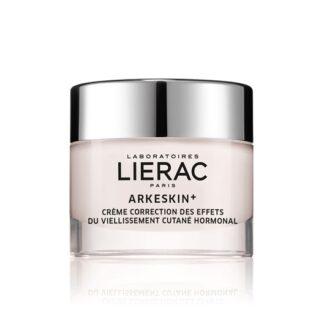 Lierac Arkéskin Creme Correção Correção dos efeitos do envelhecimento cutâneo hormonal.