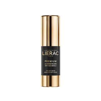 Lierac Premium Creme Contorno Olhos 15ml, o 1ª cuidado contorno de olhos antienvelhecimento absoluto alta regeneração, Rugas - Pálpebras relaxadas - Pele menos firme e enrugada - Papos e olheiras - Manchas.