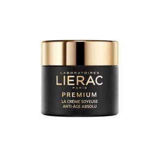 Lierac Premium Creme Soyeuse 50ml, antienvelhecimento absoluto. A eficácia antienvelhecimento de exceção.