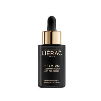 Lierac Premium Sérum Regenerante 30ml antienvelhecimento absoluto. Este sérum deliciosamente fundente, doseado a 10% em solução de ácido hialurónico puro, estimula a reparação natural do ADN para uma excecional regeneração celular.