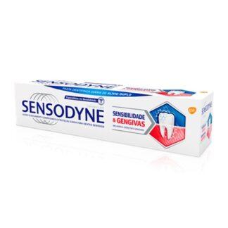 Sensodyne Sensibilidade & Gengivas está clinicamente comprovada no alívio da sensibilidade dentária e na melhoria da saúde das gengivas. A sua fórmula apresenta uma dupla ação.