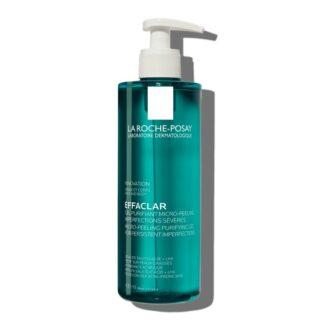 La Roche Posay Effaclar Gel Purificante Micropeeling, graças aos agentes esfoliantes selecionados que deixam a pele com uma textura suave,