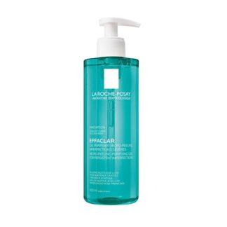 La Roche Posay Effaclar Gel Purificante Micropeeling, graças aos agentes esfoliantes selecionados que deixam a pele com uma textura suave