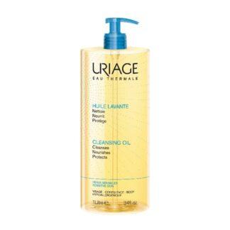 Uriage Óleo Lavante 1000ml é um cuidado de higiene diária agradavelmente perfumado que oferece uma hidratação optimizada às camadas superiores da epiderme e limpa a pele.