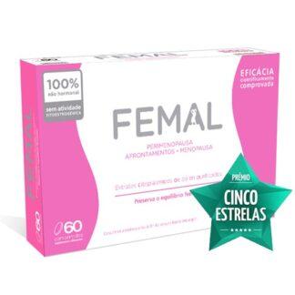 femal é um suplemento alimentar contendo Extratos Citoplásmicos de Pólen Purificados e Vitamina E