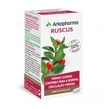Arkocápsulas Ruscus é um sumplemento alimentar à base de Ruscus. O Ruscus contribui para a normal circulação venosa e ajuda na sensação de per