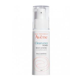 Avène Cleanance Women Sérum Corretor 30ml, O novo Sérum corretor reduz as imperfeições, fecha os poros e afina a textura da pele.
