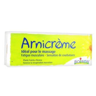 Arnicreme 120gr Boiron,creme suavizante e tonificante ideal para a massagem.