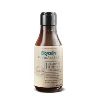 Bioscalin Biomactive Champô Prebiotico 200ml,com a finalidade de eliminar substâncias nocivas. Fornece bem estar ao cabelo.