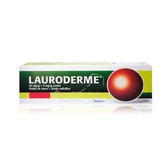 Lauroderme Creme 50gr, medicamento indicado na desinfeção e higiene da pele e mucosas, feridas superficiais e dermatite da fralda (assaduras).