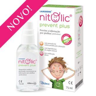 Lauroderme Nitolic Prevent Plus Spray que ajuda a prevenir a infestação por piolhos (pediculose).