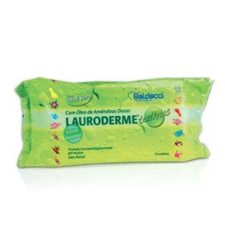 Lauroderme Toalhetes 24 Toalhetes ultradelicadas que limpam a cada muda de fralda.
