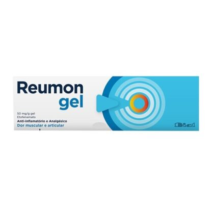 Reumon Gel 50mg/g 100g medicamento indicado no alívio das dores musculares ligeiras ou moderadas e das articulações.