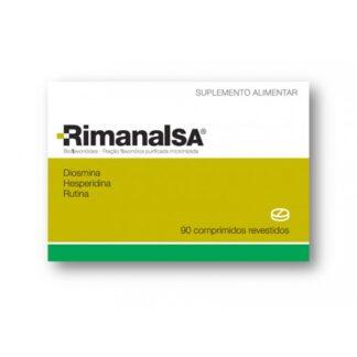 Rimanalsa 90 Comprimidos Revestidos, suplemento alimentar contendo diosmina, hesperidina e rutina.