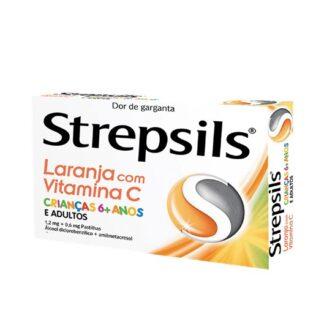 Strepsils Laranja com Vitamina C 36 Pastilhas Utilize as pastilhas Strepsils quando a sua garganta estiver seca, irritada ou dolorosa.