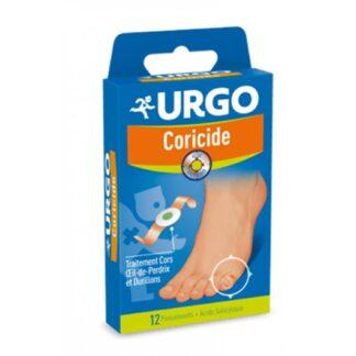 URGO Coricide 12 Pensos, Pensos calicida com ácido salicílico indicados para o tratamento tópico de calos e calosidades.