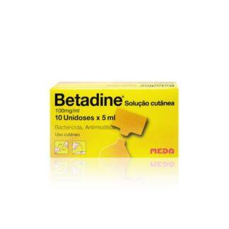 Betadine Solução Cutânea 100mg/ml 10x5ml