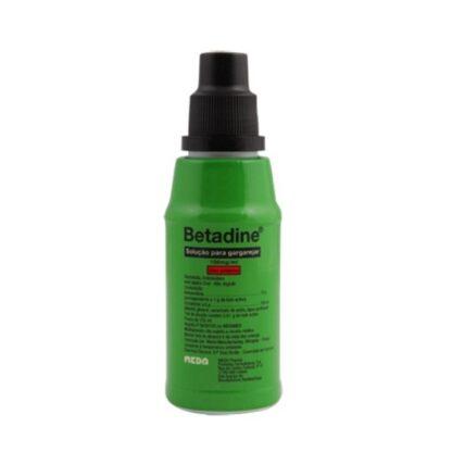 Betadine Solução para Gargarejar 125ml é uma solução antissética, à base de iodopovidona usada como desinfetante da cavidade oral, boca e faringe e ainda para eliminar o mau hálito.
