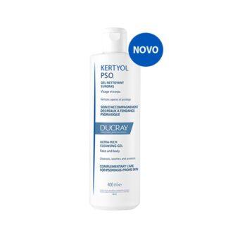 Ducray Kertyol P.S.O. Gel Limpeza 400ml, Cuidado complementar para a pele com tendência a psoríase.
