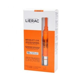 Lierac Mesolift C15 Concentrado Ampolas 2x 15ml