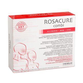 Rosacure Combi 30 Comprimidos, suplemento alimentar para condições específicas da pele que requerem ingredientes antioxidantes
