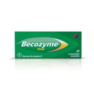 Becozyme forte é utilizado para a prevenção de estados carenciais de vitaminas do complexo B, em situações que requerem uma ingestão adicional (gravidez e aleitamento, esforço físico excessivo, recém-nascidos e idosos) ou associadas a uma deficiência por doença, ou induzida por fármacos.