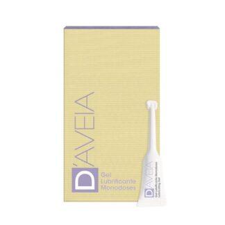 D-Aveia Gel Íntimo Lubrificante Monodoses Anti-Aging 6x5ml, monodoses de gel íntimo lubrificante anti-aging, com ação hidratante, lubrificante e anti-aging íntimo