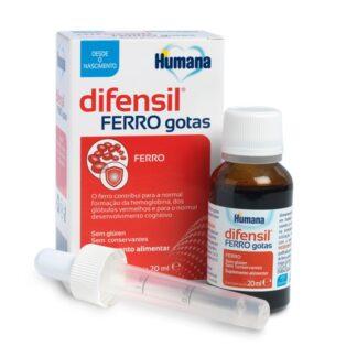 Difensil Ferro Gotas, é um suplemento alimentar que contém ferro e nutrientes complementares, específico para para os recém-nascidos pré-termo e lactentes.