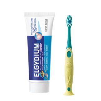 Elgydium Kids Bubble 50ml, gel dentífrico para apreensão das cáries das crianças, o esmalte da dentição temporária é mais fino e menos mineralizado que o dos dentes definitivos.