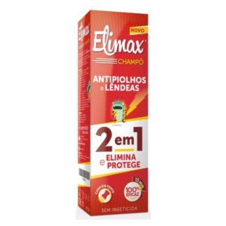 Elimax Champô 2 em 1 Antipiolhos e Lendeas 250ml, combinação única de eficácia garantida e maior comodidade na utilização