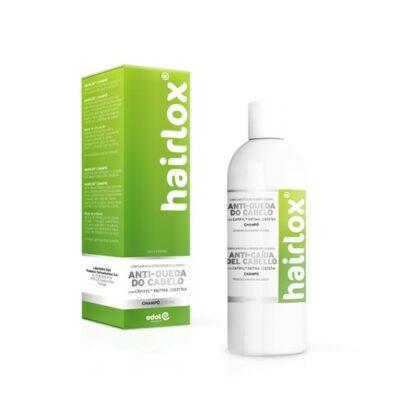 Hairlox Champô 200ml com CapixylTM, Biotina e Cisteína. Complemento à PREVENÇÃO e cuidado ANTI-QUEDA DO CABELO.
