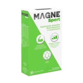 MagneSport 30 Cápsulas, suplemento alimentar multivitamínico e multimineral.