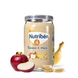 Nutribén Boião Banana e Maça 235gr