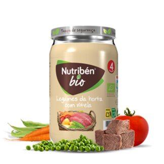 Nutribén Boião Legumes Horta com Vitela 235gr