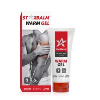 Star Balm Gel Muscular Térmico 100ml, gel com efeito térmico e vasodilatador que promove o alívio rápido das dores musculares e articulares