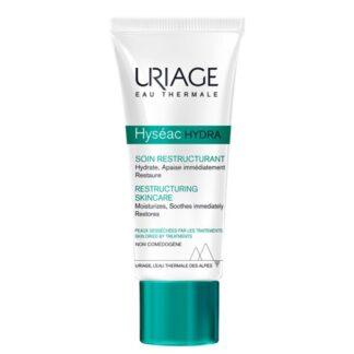 Uriage Hyseac Hydra Cuidado Reestrutura 40ml é o cuidado ideal da pele acneica, seca e fragilizada por tratamentos, que proporciona um conforto imediato e duradouro.