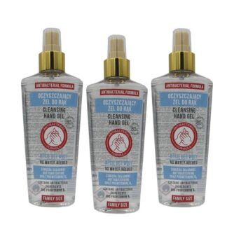Álcool Gel de Limpeza Mãos em Spray 3x200ml