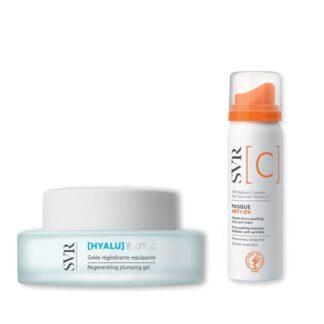 SVR Hyalubiotic Geleia Regeneradora + Masque Anti-Ox 50ml, uma tez brilhante