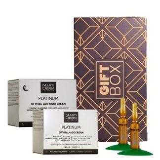 Martiderm Gift Box Platinum GF Vital-Age Creme Pele Normal + Night Cream 50 ml