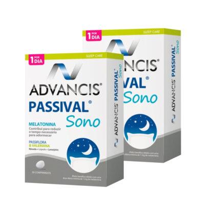 Advancis Passival Sono 30 comprimidos,suplemento alimentar. Com a finalidade de induzir o sono, diminuir o tempo para adormecer e ainda permitir um sono reparador.