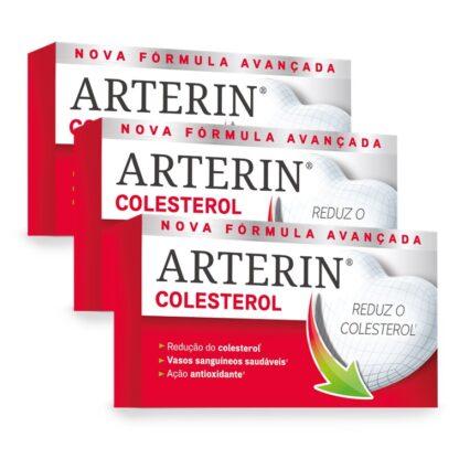 Arterin Colesterol 30 Comprimidosé um suplemento alimentar eficaz e bem tolerado, baseado em extratos naturais que ajudam a diminuir e/ou manter o colesterol1.