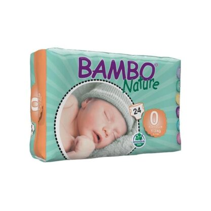 Bambo Nature 0 Fraldas 1-3kg