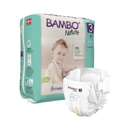 Bambo Nature 3 Fraldas 4-8kg 52 Unidades