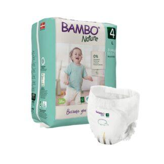 Bambo Nature 4 Cuecas Fralda 7-14kg 48 Unidades